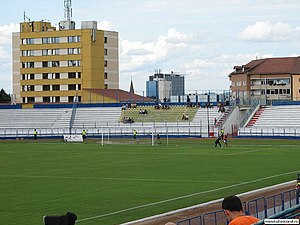 Stadionul Municipal (Sibiu) - Image: Stadionul Munincipal Sibiu
