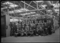 Staff officers and foremen at the Hutt Railway Workshops; group photograph ATLIB 311336.png