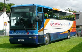 Stagecoach South Wales - Plaxton Expressliner bodied Volvo B10M in July 2008