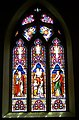 Stained glass window, St Mary's Church, Iwerne Minster - geograph.org.uk - 908256.jpg