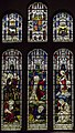 Stained glass window, St Mary's church, Newent (20122878988).jpg