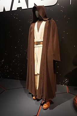 Star Wars and the Power of Costume July 2018 02 (Obi-Wan Kenobi's Jedi robes from Episode IV)