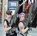 Starship Troopers girls at E3 2012.jpg