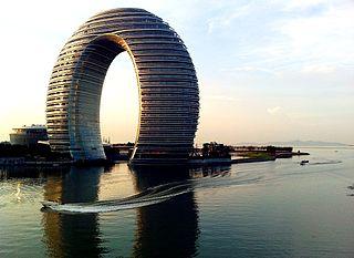 Sheraton Huzhou Hot Spring Resort building in Huzhou, China