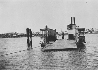 Ferry transport in Queensland - Bulimba Ferry, 1912