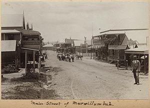 Murwillumbah - Main street, ca. 1905
