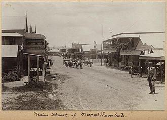 Murwillumbah - Image: State Lib Qld 1 241283 Main street of Murwillumbah, ca. 1905