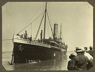 SS Omrah - SS Omrah