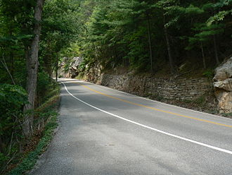 Virginia State Route 39 - State Route 39 as it heads east into Goshen Pass