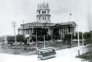 Kansas State Capitol - Under construction