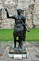 Statue of the Roman Emperor Trajan, Tower Hill, London.jpg
