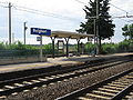 Stazione di Bolgheri, Pensilina binario 2.JPG