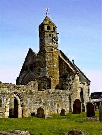 Castle Dangerous - St Bride's Kirk, where Douglas is buried
