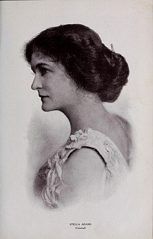Stella Adams - Stella Adams (from Motion Picture Magazine, January 1915)