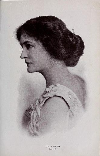 Stella Adams - Stella Adams (from Motion Picture Magazine, January 1915)