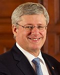 Conservative leader, Stephen Harper