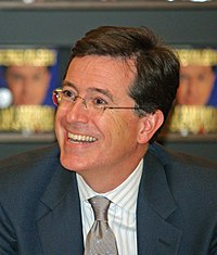 Stephen Colbert appeared in the season premiere.