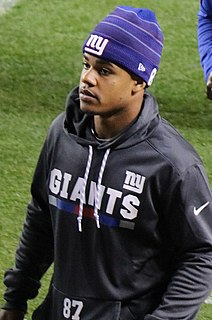 Sterling Shepard American football player from the United States