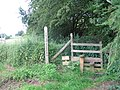 Stile and hatch by Loton Park - geograph.org.uk - 489196.jpg
