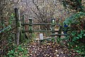 Stile on the edge of Shadwell Wood - geograph.org.uk - 1047505.jpg