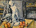 Still Life with Figurine, 1890s, by Paul Cézanne. Nationalmuseum, Stockholm, Sweden.jpg