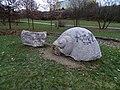 Stodůlky, Centrální park, mramorová mušle.jpg
