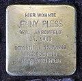 Stolperstein Bamberger Str 5 (Wilmd) Jenny Pless.jpg