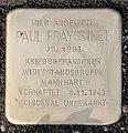 Stolperstein Berliner Str 26 (Tegel) Paul Frayssinet.JPG