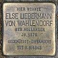 Stolperstein Budapester Str 45 (Charl) Else Liebermann von Wahlendorf.jpg