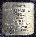 Stolperstein Krefelder Str 7 (Moabi) Rosa Ernestine Fränkel.jpg
