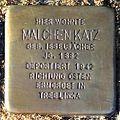 Stolperstein Malchen Katz (Griedeler Str.15 Butzbach).jpg
