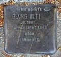 Stolperstein Schulstr 107 (Weddi) Georg Witt.jpg
