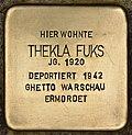 Stolperstein für Thekla Fuks (Cottbus).jpg