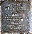 Stolpersteine Krefeld, Willi Conrads Germaniastraße 51.jpg