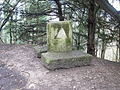 Stone monument close to the Cotswold Way path - geograph.org.uk - 160020.jpg