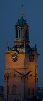 Kirchturm der Storkyrka