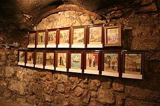 House of Saint Ananias - Image: Story layout of Saint Ananias