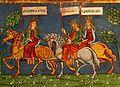 Strasbourg - Saint-Pierre-le-Jeune Protestant - Fresco - Aragon-Sicile-Castile.jpg