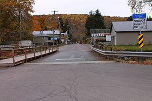 Noxen, Pennsylvania - Main street in Noxen