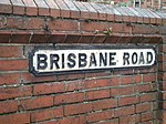 File:Street sign, Brisbane Road, Reading - geograph.org.uk - 1769685.jpg