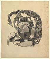 Study for a Book Plate- Leda and the Swan MET DP819615.jpg