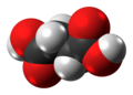 Succinic acid molecule spacefill from xtal.png