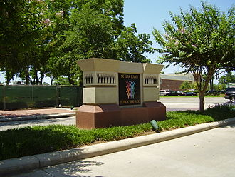 First Colony - Sugar Land Town Square in Sugar Land was developed out of one of the few remaining parcels of land in First Colony