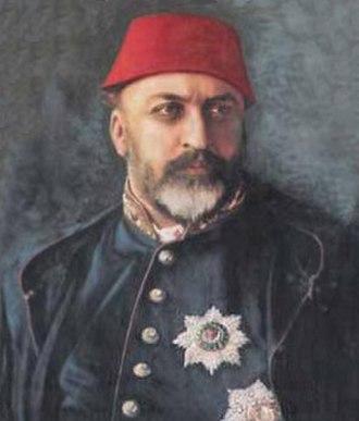 Abdülaziz - Sultan Abdülaziz in 1873