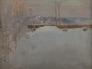 A foggy morning at Malmi