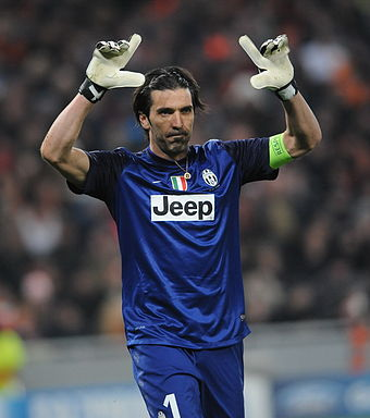 Star goalkeeeper Gianluigi Buffon was among a group of players who remained  with the club following their demotion to Serie B in 2006. 8cf533439