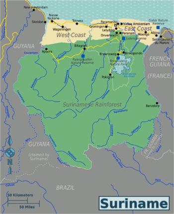 Surinamese Rainforest Travel Guide At Wikivoyage