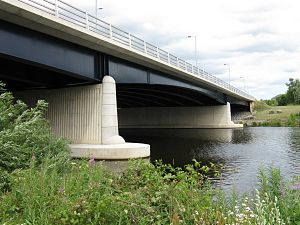 Surtees Bridge - Surtees Bridge over the River Tees