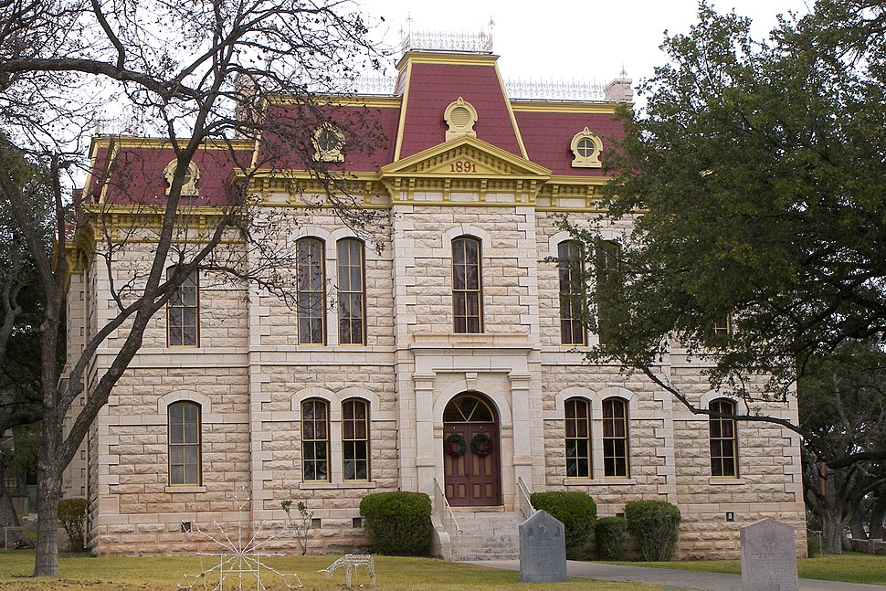Sutton county courthouse 2009