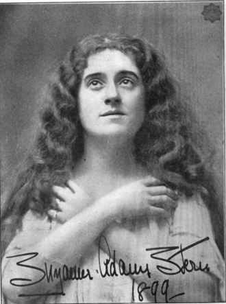 Suzanne Adams - Suzanne Adams Stern, from a 1900 publication.